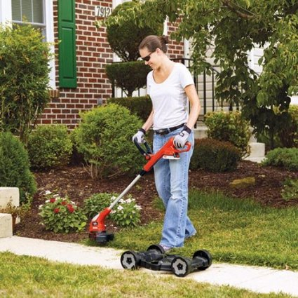 Black-&-Decker-MTC220-12-Inch-Lithium-Cordless-3-in-1-TrimmerEdger-and-Mower,-20-volt-View3