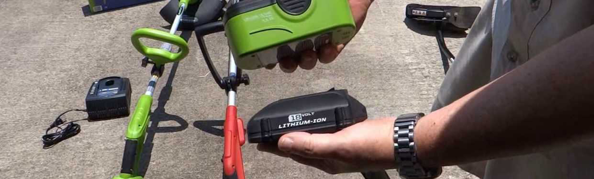 Battery Powered Trimmers
